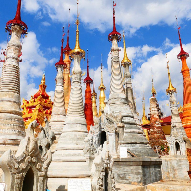 192. Objetivos en Birmania y estabilizadores de imagen