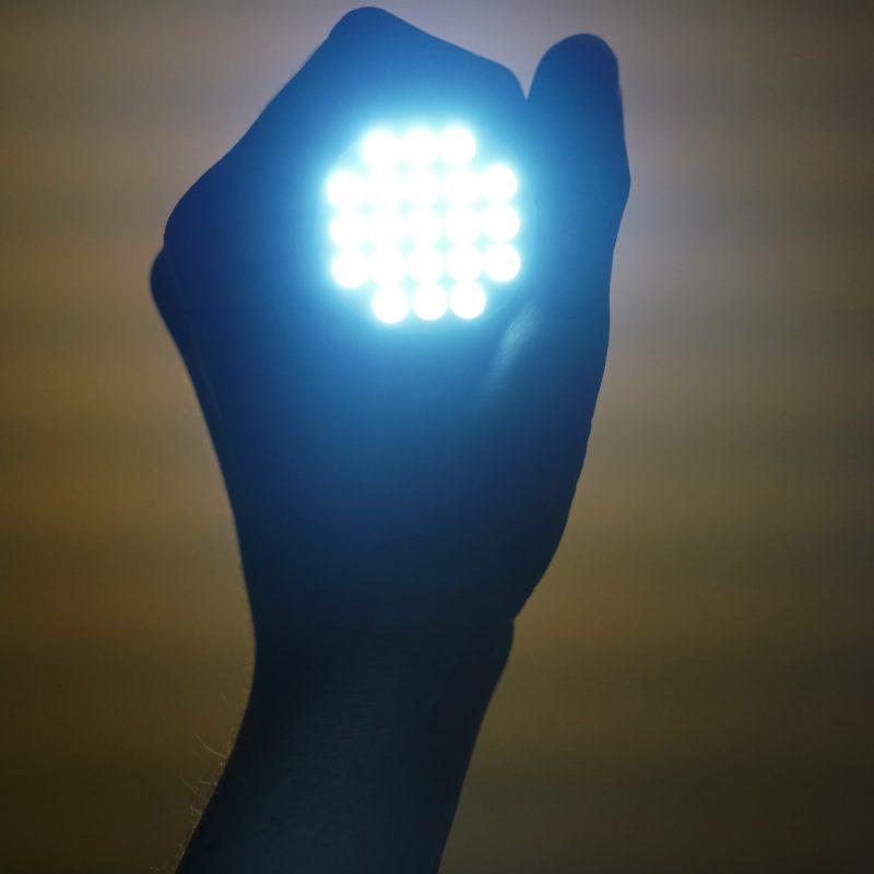 197. Luces LED para fotografía