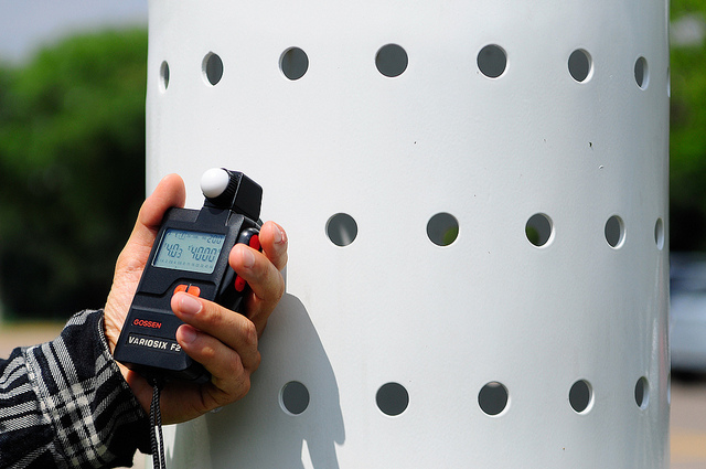 fotómetro o flashímetro