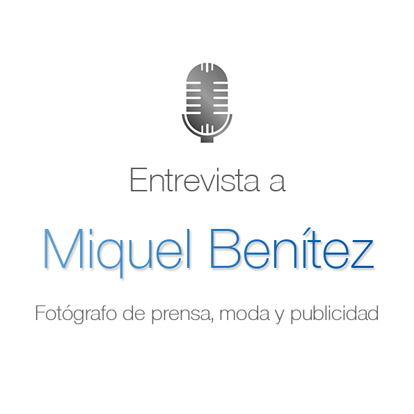 113. Fotografía de prensa con Miquel Benítez