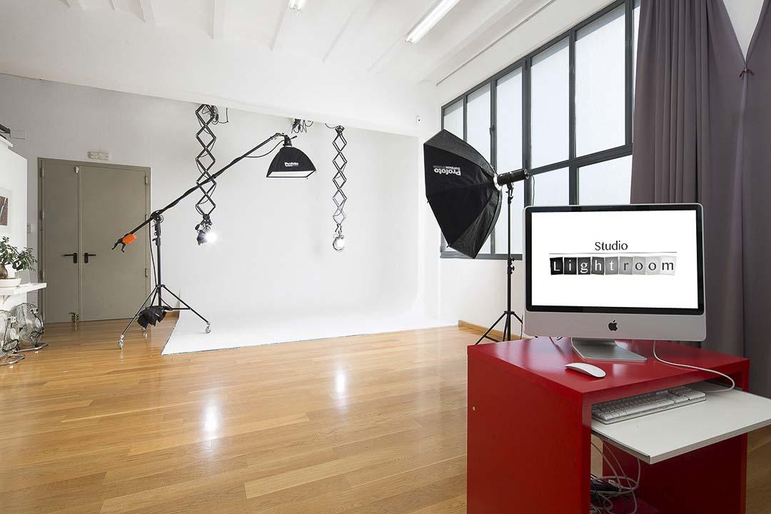 Alquiler estudio fotografía