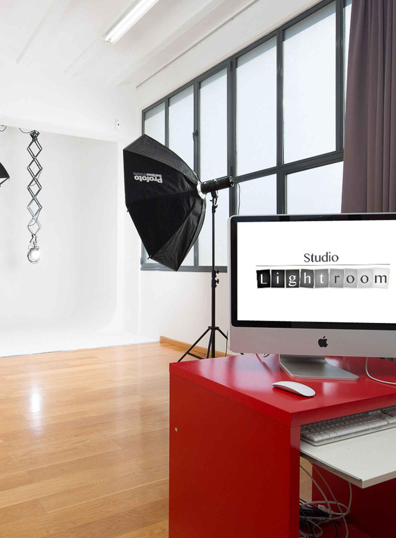 Estudio y material fotografico alquiler Barcelona