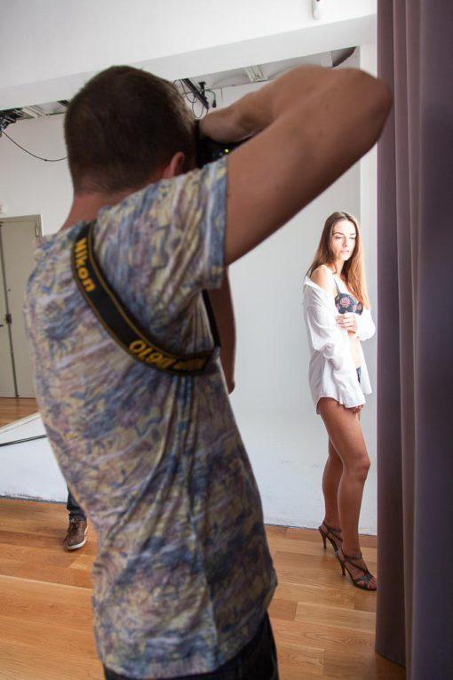 Taller fotografía Boudoir en Studio