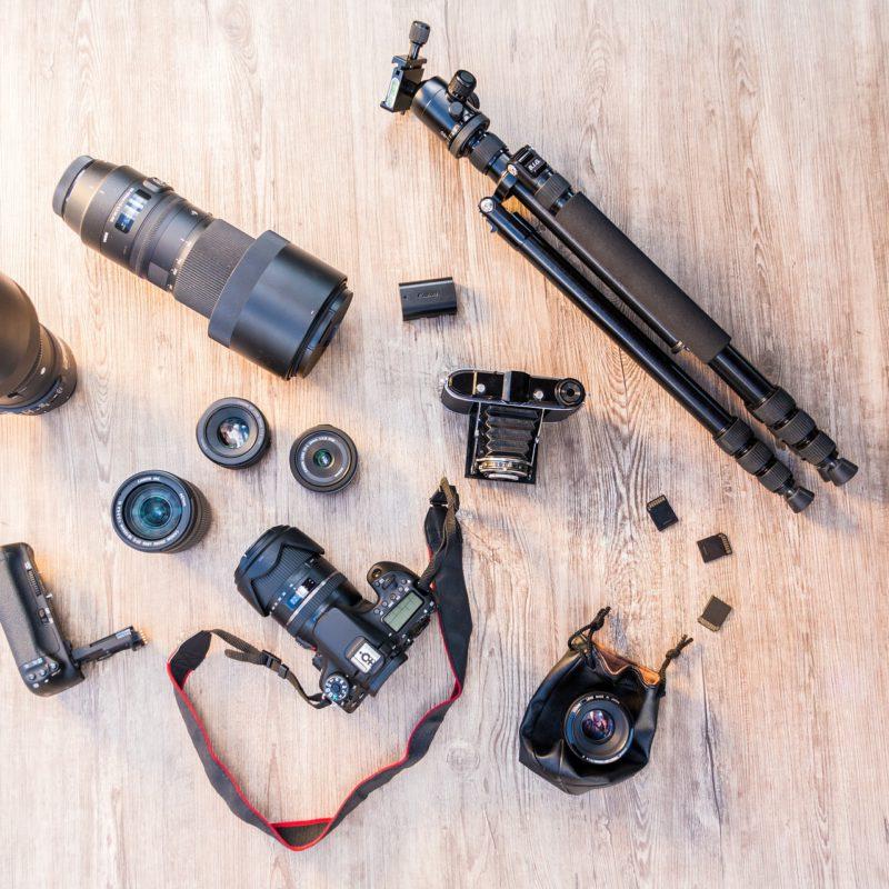 229. Compra de equipo fotográfico de segunda mano